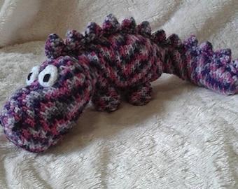 Dinosaur dragon plushie-dinosaur soft toy-stuffed toy dinosaur-amigurumi dinosaur-handmade dinosaur