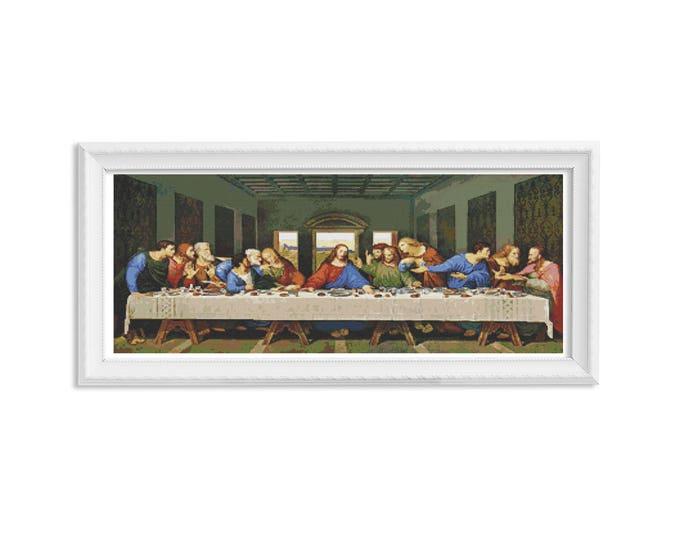 The Last Supper Cross Stitch Chart by Leonardo da Vinci (DAVIN03)
