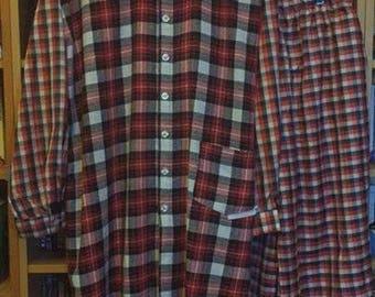Culture Club 'I'll Tumble 4 Ya' replica Checked shirt/coat and pants outfit.