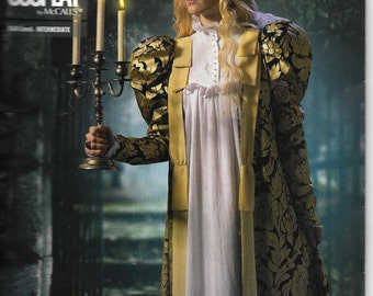 M2053 McCall's Spectral Robe and Nightgown Costume Sewing Pattern Sizes 16-24