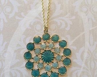 Green Necklace - Green Jewelry - Green Pendant - Green Pendant Necklace - Mint Green Necklace - Mint Green Wedding - Mint Green Jewelry