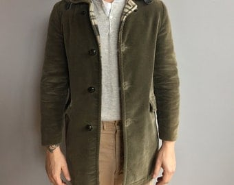 Olive Green Corduroy Jacket by Fraternity Prep Outerwear by Sears