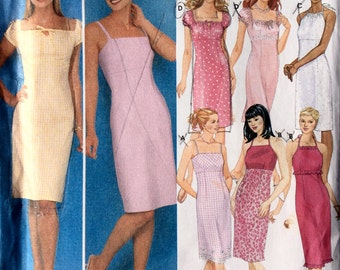 Simplicity 9557, Women's Dress Pattern, Design Your Own, Summer Dress Pattern, Size 4, 6, 8, 10, Uncut Pattern