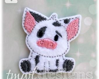 """Spotted Pig Feltie Digital Design File - 1.75"""""""