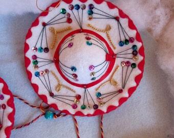 Felt Sombrero Ornament