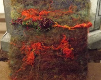 Needle Felted Brooch inspired by the Paintings of Claude Monet