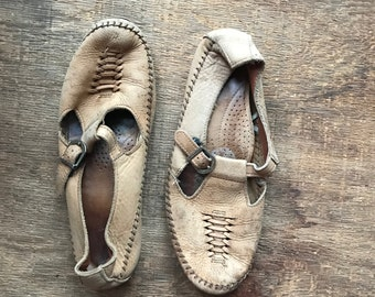 Vintage Moccasin Mary Janes