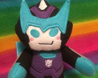 TF G1 Lost Light MTMTE Plush Plushie BittyBot Blue Revenge Rodimus Toy from Mythfits