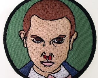 Stranger Things Eleven Embroidered Patch