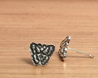 Butterfly Earrings, Butterfly Jewelry, Butterfly, Silver Stud Earrings, Post Earrings, Minimal Earrings, Sterling Silver Stud, E260s