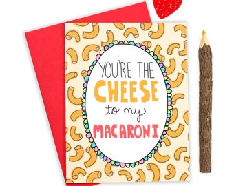Pun Valentine Card I Like You Card Woolly Mammoth Funny Pun