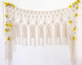 naomi / macrame wall hanging