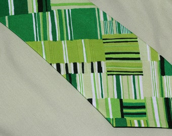 Men's necktie, Green tie, 'Green With Envy'