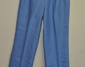 JCPenney Fashions 70's Vintage side zipper Flare High Waist Blue Jeans New with tags