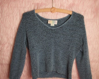 NoLogo Cropped Sweater