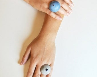 Hemisphere rings ON SALE