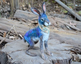 Needle Felted Mystic Hare