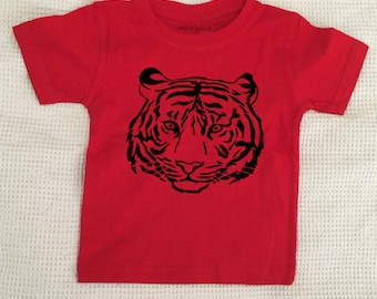 Soft feel Tiger T-shirt child size
