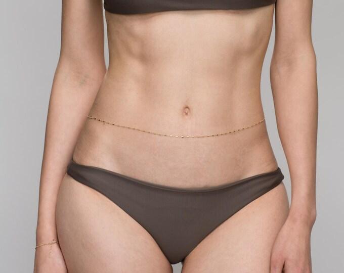 Shinny Bar Belly Chain // Body Chain // Bikini Chain