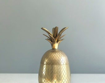Brass Pineapple / Brass Pineapple Container