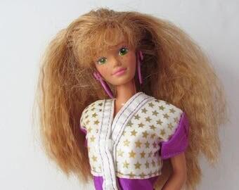 Midge and The All Stars  Barbie Doll Softball Uniform 1989 Mattel Late 1980s