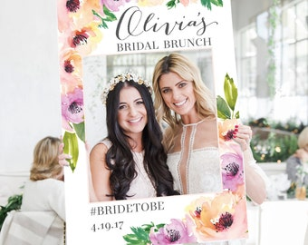 Wedding Photo Prop - Bridal Shower Photo Prop - Wild Flower Photo Prop - DIGITAL FILE - Baby Shower Photo Prop - Printed Option Available
