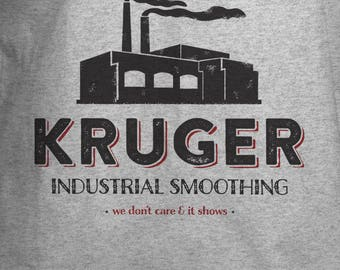 Kruger Industrial Smoothing T-shirt - Vintage Style Logo Shirt - Small - 5Xl - Unisex