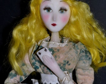 Alice in wonderland - dolls-  steampunk