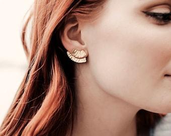 Syma Studs || Ear Jacket