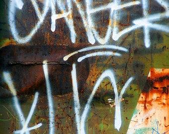 Rust, Graffiti Art, Abstract Photography