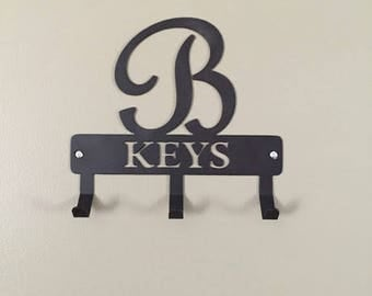Custom Key Holder, Monogram Key Holder/ Personalized Gift/ Monogram Gift / Key  holder