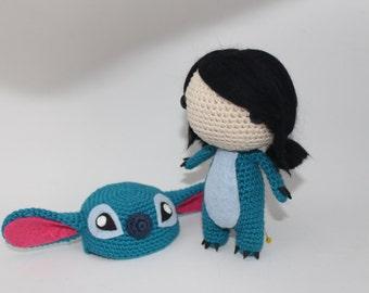 Lilo stitch crochet Etsy