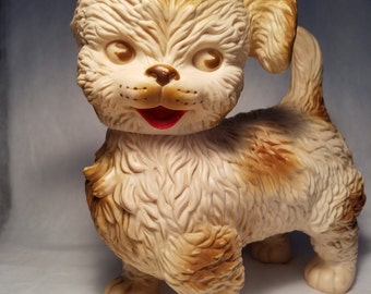 "1960's Large Edward Mobley / Arrow Rubber ""Woofie""Pup"