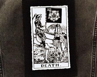 Death Card Tarot Patch