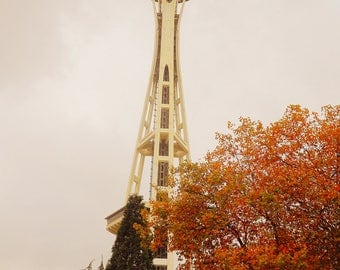 Space Needle in the Fall