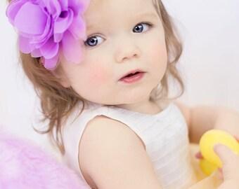 Purple headband- Girl headband- Easter headband- baby headband