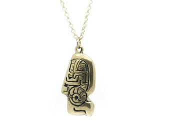 Gold Totem necklace