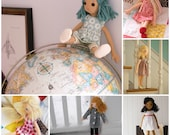 Custom Mini Doll with Wardrobe