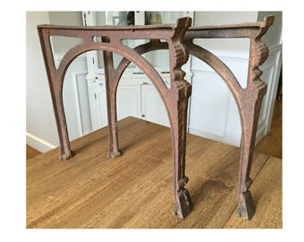 Antique Cast Iron Soapstone Sink Legs