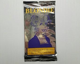 2 Packs Blondie Newspaper Comic Images trading cards