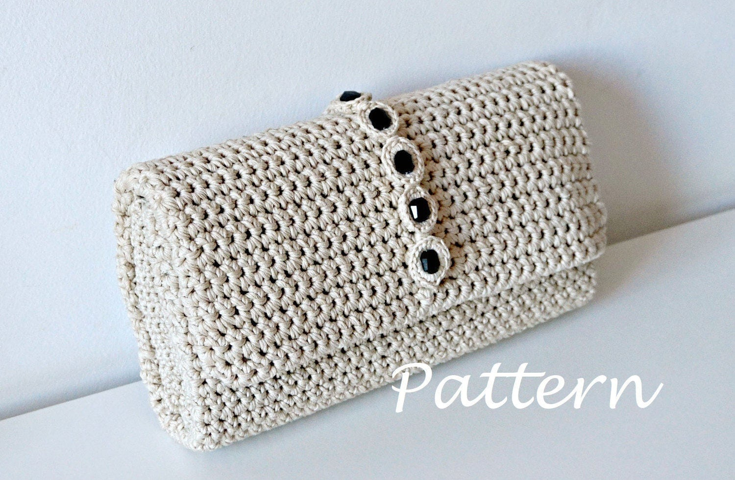 Crochet pattern crochet bag pattern crochet purse pochette pattern this is a digital file bankloansurffo Gallery