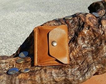 Men's wallet-Coin-Portadollari-moneyclip-wallet-purse-handmade card holder.