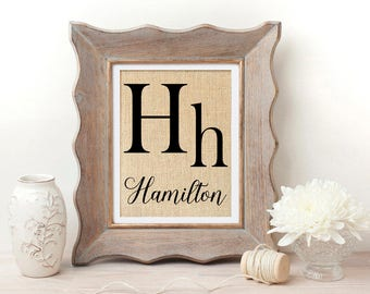 Last Name Wall Art farmhouse name sign last name sign fixer upper wall art gift