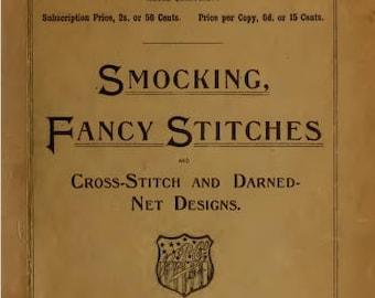 Vintage Smocking, Fancy Stitches Book