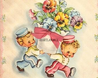 Vintage Mother's Day Digital Image Download Printable