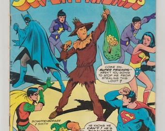 Super Friends; Vol 1, 32, Bronze Age Comic Book. VG+ (4.5). May 1980. DC Comics (Whitman Variant)