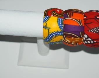 Chunky African Print Bangles