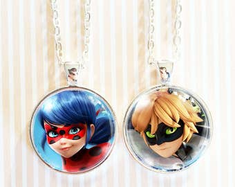 Choose from 4 images! - Miraculous Ladybug Pendant