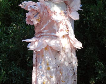 Peach Buttons Fairy Costume