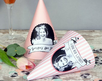 Personalised Hen Party Hats // Printed & Assembled